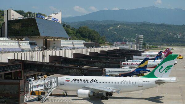 Международный аэропорт Сочи. Архивное фото