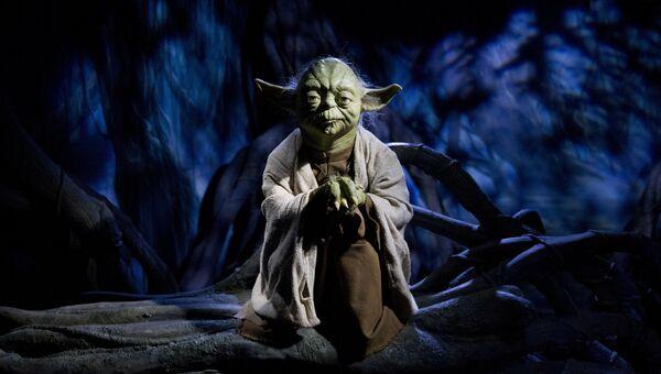 Фигура персонажа Звездных войн магистра Йода. Архивное фото