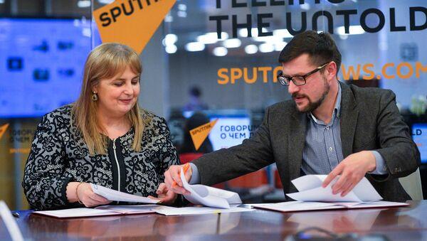 Информационное агентство и радио Sputnik и издание Республики Болгария газета Стандарт подписали соглашение о сотрудничестве