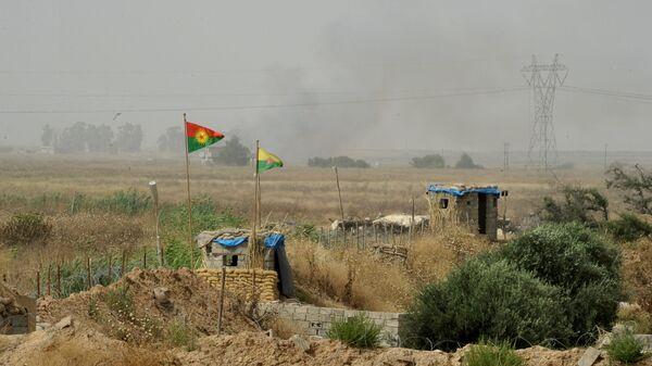 Блокпост Рабочей партии Курдистана