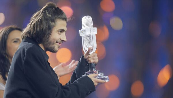 Победитель Евровидения Сальвадор Собрал из Португалии
