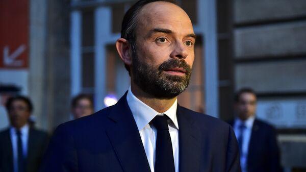 Премьер-министр Франции Эдуард Филипп