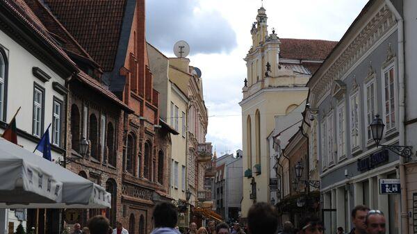 В Вильнюсе. Архивное фото