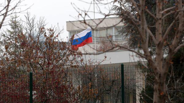 Российское посольство в Анкаре. Архивное фото