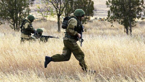 Учения спецподразделений в Крыму