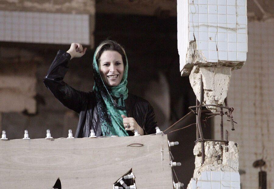 Дочь бывшего ливийского лидера Муаммара Каддафи Айша Каддафи