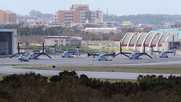 Американская авиабаза на острове Окинава. Архивное фото