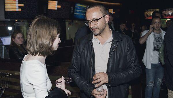 Андрей Звягинцев на первом российском показе фильма Нелюбовь