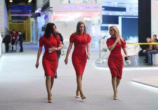 В Экспофоруме накануне открытия Санкт-Петербургского международного экономического форума-2017