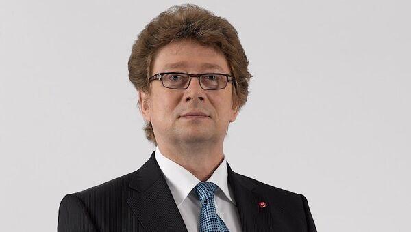 Председатель правления Московской биржи Александр Афанасьев. Архивное фото