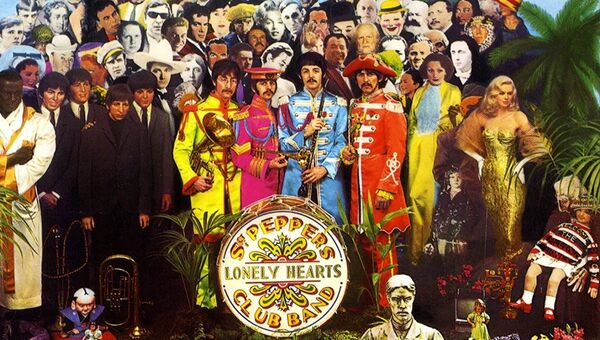 Альбом Sgt. Pepper's Lonely Hearts Club Band группы The Beatles