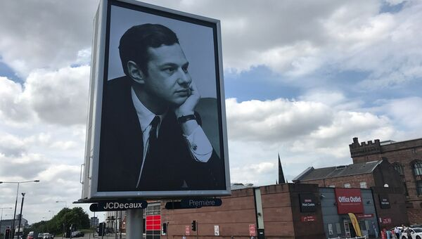 Празднование 50-летия альбома Битлз Сержант Пеппер в Ливерпуле. Архивное фото