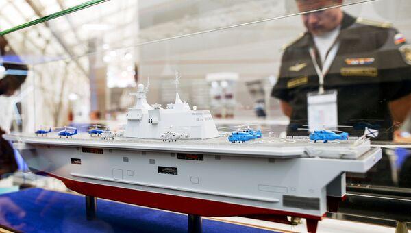 Макет десантного корабля Прибой