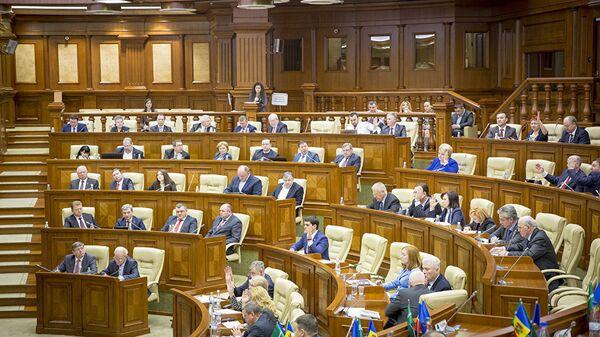 Заседание парламента Молдавии. Архивное фото