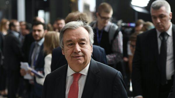 Генеральный секретарь Организации Объединенных Наций Антониу Гутерриш