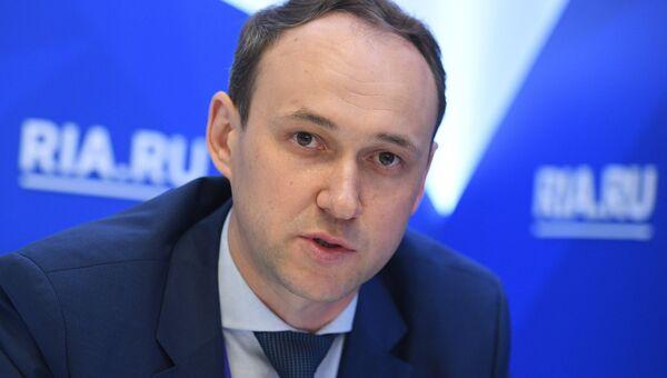 Генеральный директор ПАО Северсталь Александр Шевелев на Санкт-Петербургском международном экономическом форуме 2017