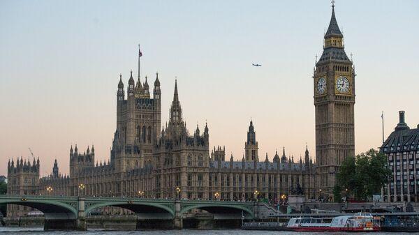 Вестминстерское Аббатство и Биг Бен в Лондоне. Архивное фото