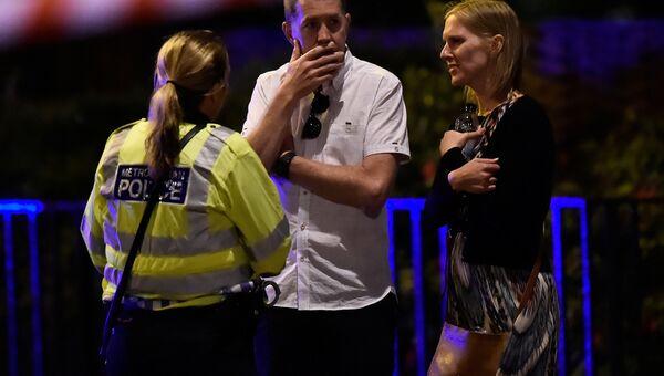 На месте происшествия на Лондонском мосту. 3 июня 2017