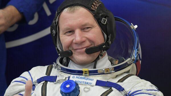 Российский космонавт Олег Новицкий. Архивное фото