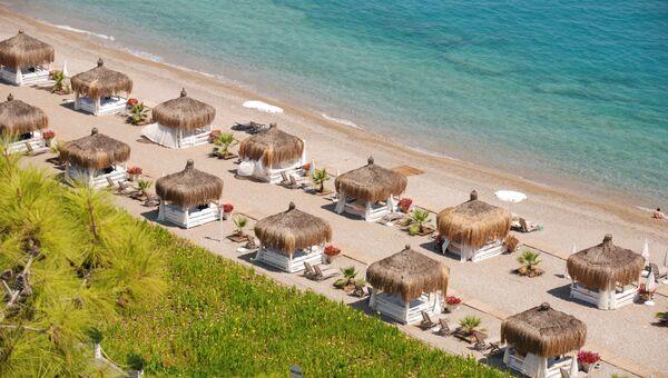 Турецкое побережье Антальи. Архивное фото