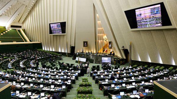 В зале заседаний парламента Ирана