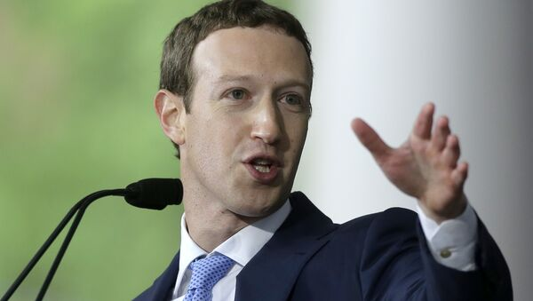 Основатель Facebook Марк Цукерберг. Архивное фото