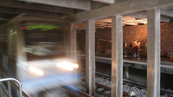 Реконструкция станции метро Фили в Москве