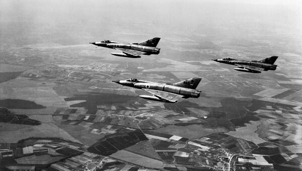 Истребители Dassault Mirage III. 1967 год