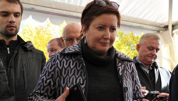 Журналист, исполнительный директор движения Русь сидящая Ольга Романова. Архивное фото