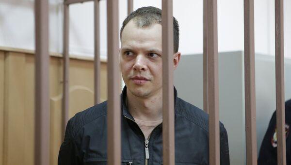 Участник несогласованной акции 26 марта 2017 года в Москве Дмитрий Борисов. Архивное фото