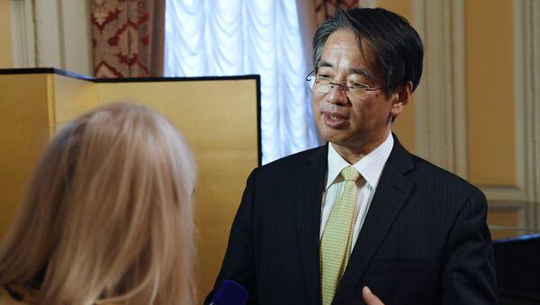 Посол Японии в РФ Тоёхиса Кодзуки. Архивное фото