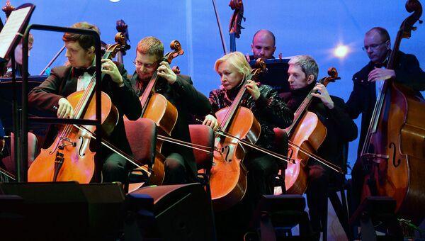 Участники симфонического оркестра Москвы Русская филармония. Архивное фото