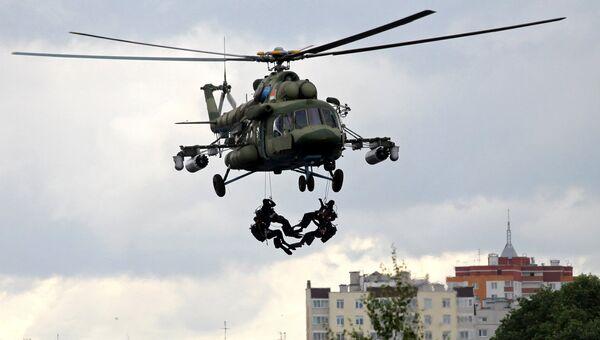 Антитеррористические учения Славянское братство-2017 в Бресте