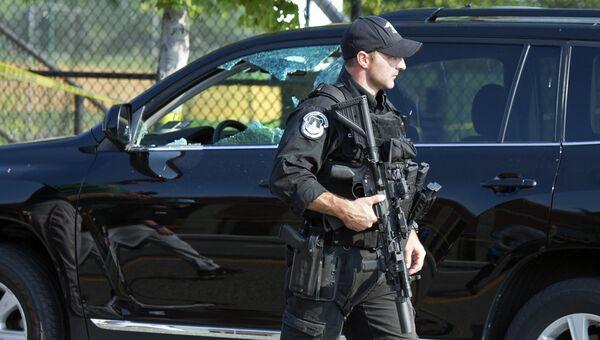 Американский полицейский. Архивное фото