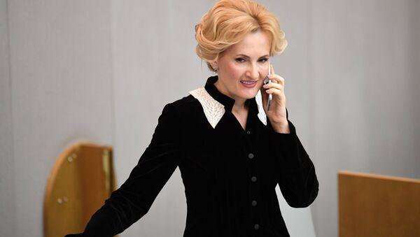 Заместитель председателя Государственной Думы РФ Ирина Яровая . Архивное фото