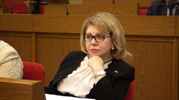 Депутат Госдумы РФ Елена Панина