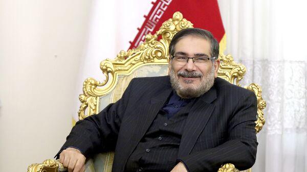 Секретарь Высшего совета национальной безопасности Ирана Али Шамхани. 2017 год