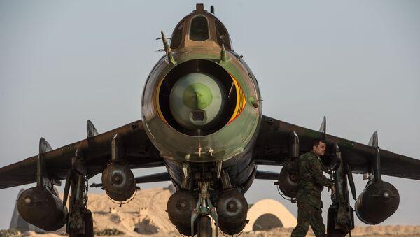 Самолет Су-22. Архивное фото