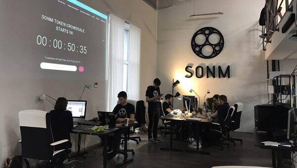 Стенд компании SONM
