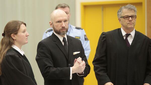 Террорист Андерс Брейвик. Архивное фото