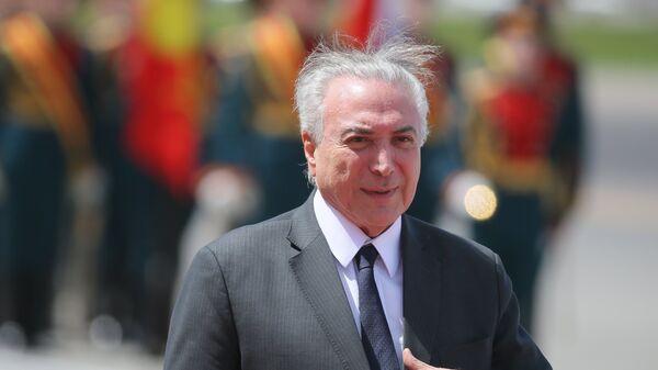 Экс-президент Федеративной Республики Бразилии Мишел Темер