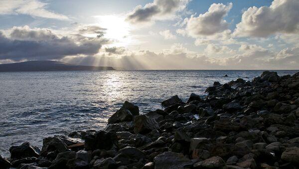 Побережье Охотского моря. Архивное фото