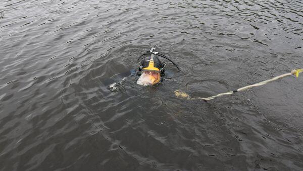 Поисково-спасательные работы в акватории Ладожского озера