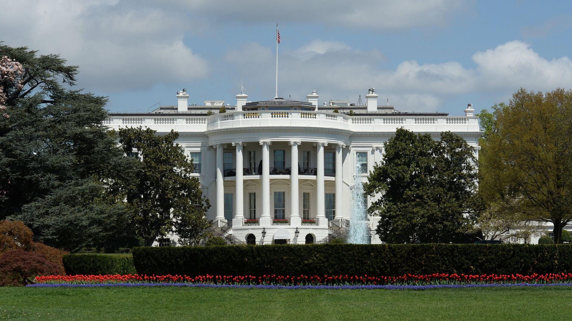 Здание Белого дома в Вашингтоне, США - РИА Новости, 1920, 16.07.2021