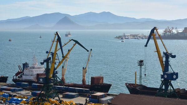 Морской торговый порт Находка