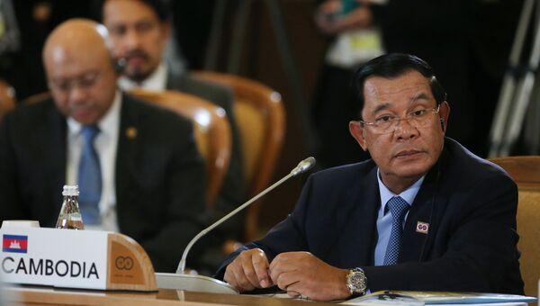 Премьер-министр Королевства Камбоджа Хун Сен