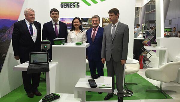 Швабе показал новую геодезическую технику на российско-китайском ЭКСПО