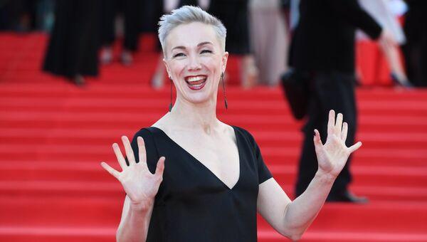 Актриса Дарья Мороз на церемонии открытия 39-го Московского международного кинофестиваля в Москве