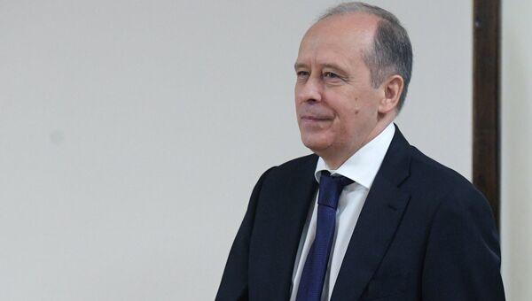 Директор ФСБ РФ Александр Бортников перед началом пленарного заседания Государственной Думы РФ. 23 июня 2017