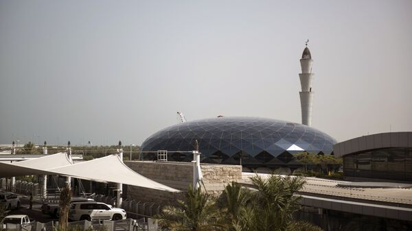 Здание Международного аэропорта Хамад в Дохе